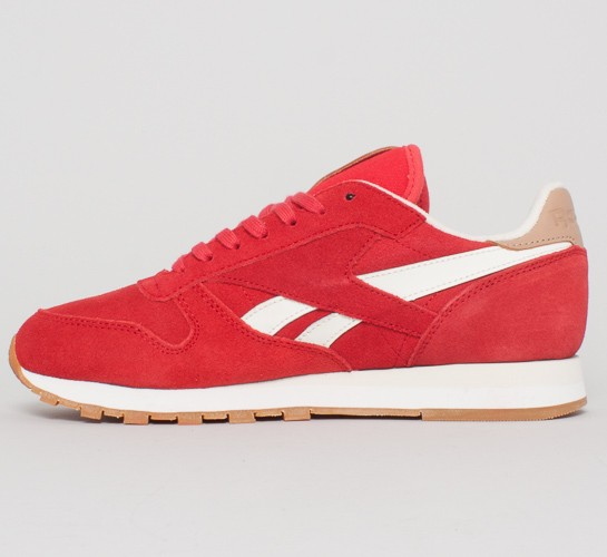 reebok classic leather suede stadium red chalk sandtrap. Black Bedroom Furniture Sets. Home Design Ideas
