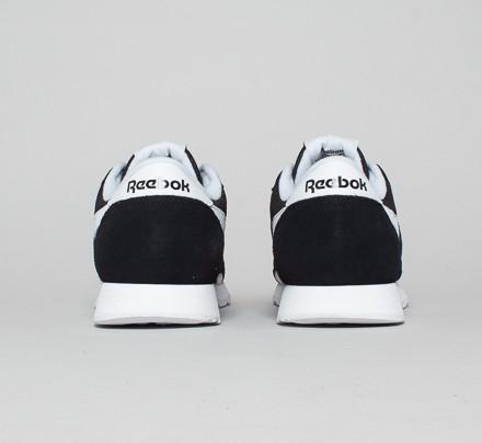 Reebok En Blanco Y Negro Clásico De Nylon UXK3xeFB