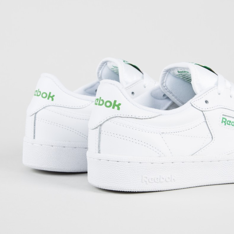 a16f682410306e Reebok Club C 85 (Intense White Green) - Consortium