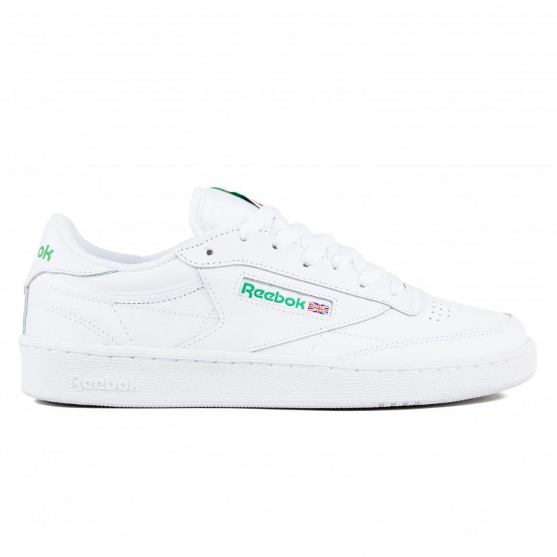c776dac40b4573 Reebok Club C 85 (Intense White Green) - Consortium