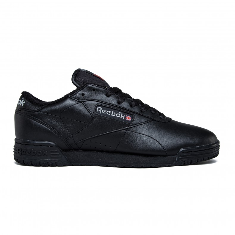 buy popular b45a6 e9bec Reebok Exofit Lo Clean Vintage (Black/Carbon/Classic Red)