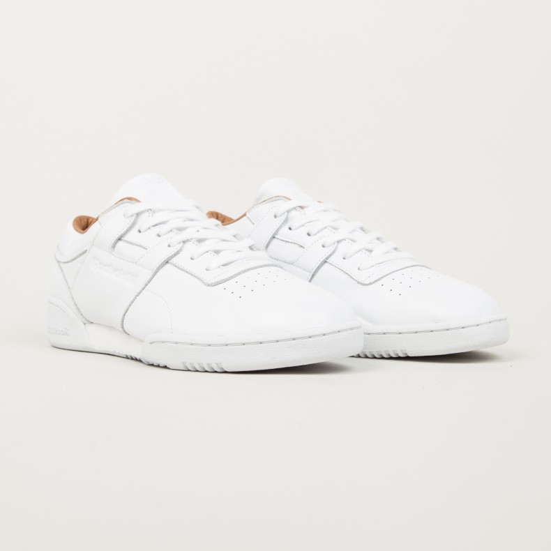 Reebok Workout Lo Clean PN (White) - Consortium. 91c684cad