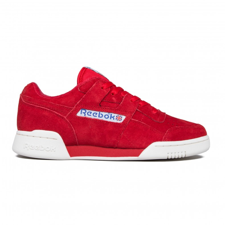 db84080549608b Reebok Workout Plus Vintage (Primal Red Chalk Classic White) - Consortium.