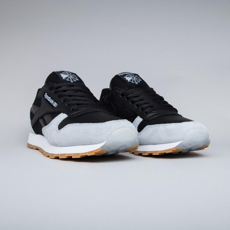 f78c8932f4d Reebok x Kendrick Lamar Classic Leather  Perfect Split . (Black Cloud ...