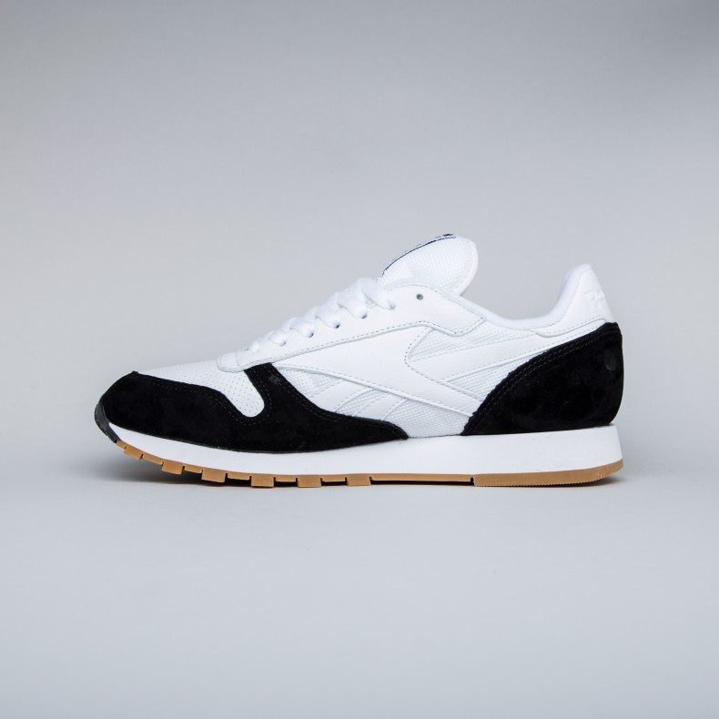 f8952b3038066 Reebok x Kendrick Lamar Classic Leather  Perfect Split . (White Black-Gum)