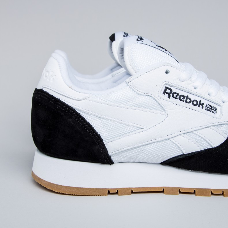 Reebok x Kendrick Lamar Classic Leather  Perfect Split  (White Black ... 45909591d