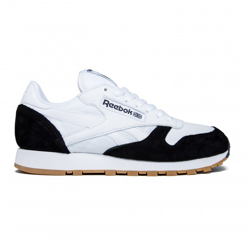 Reebok x Kendrick Lamar Classic Leather  Perfect Split  (White Black-Gum) -  Consortium. 43010681b