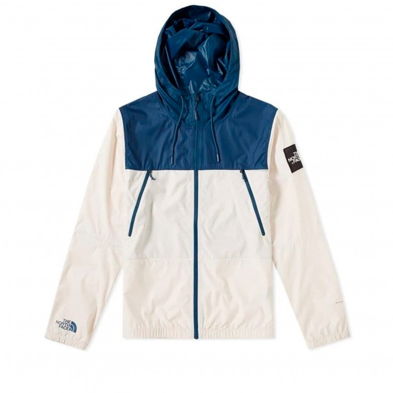 The North Face 1990 Seasonal Mountain Jacket (Blue Wing Teal Vintage White)  - T92S4Z2RX - Consortium. 42363f93d