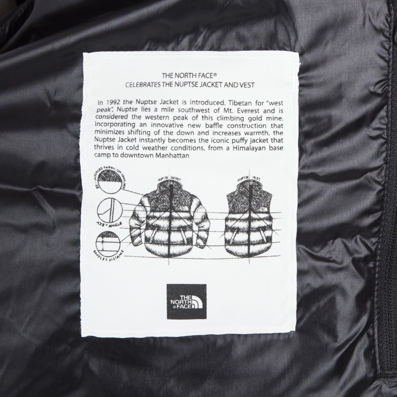 The North Face 1992 Nuptse Jacket (TNF Black) - Consortium.