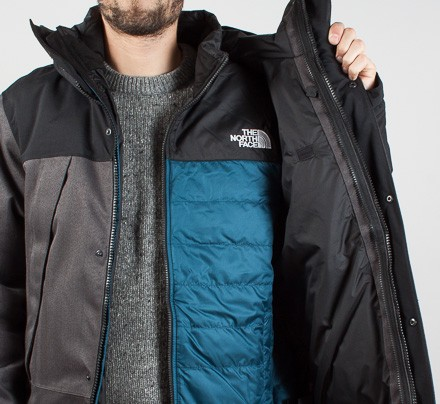 db47275266df The North Face Mountain Triclimate 3-in-1 Jacket (Graphite Grey ...