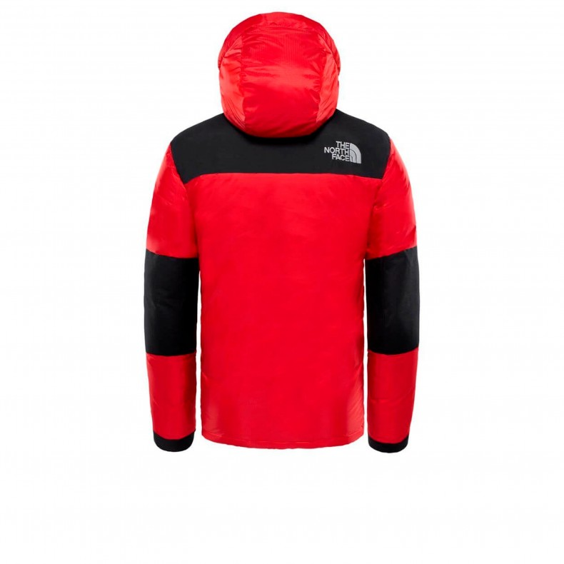 20bc475ccf The North Face Original Himalayan Windstopper Down Jacket. (TNF Red TNF  Black)
