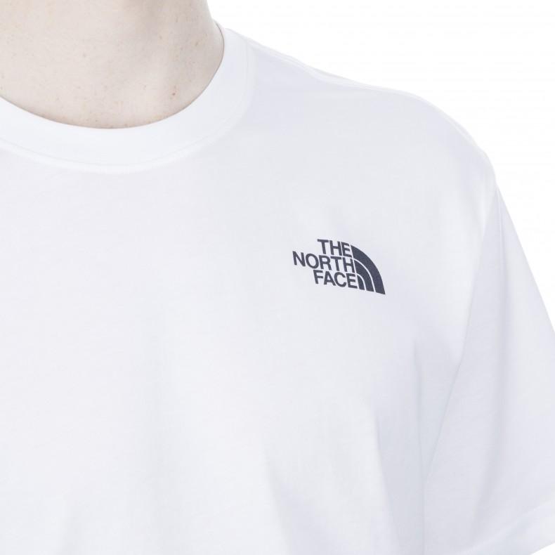 31a4f197d The North Face Redbox Celebration T-Shirt (TNF White/Urban Navy ...