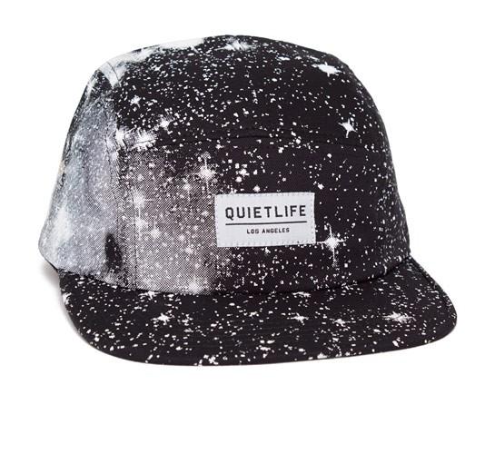 9619305d19a The Quiet Life Cosmos 5 Panel Camper Hat (Black) - Consortium.