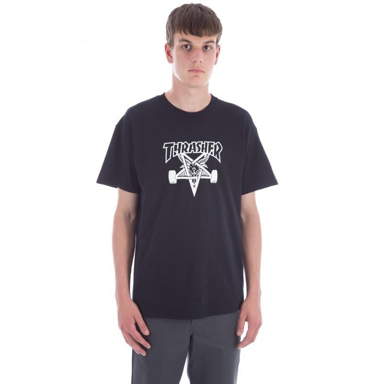 855cd07ab90c Thrasher Skategoat T-Shirt (Black) - Consortium.