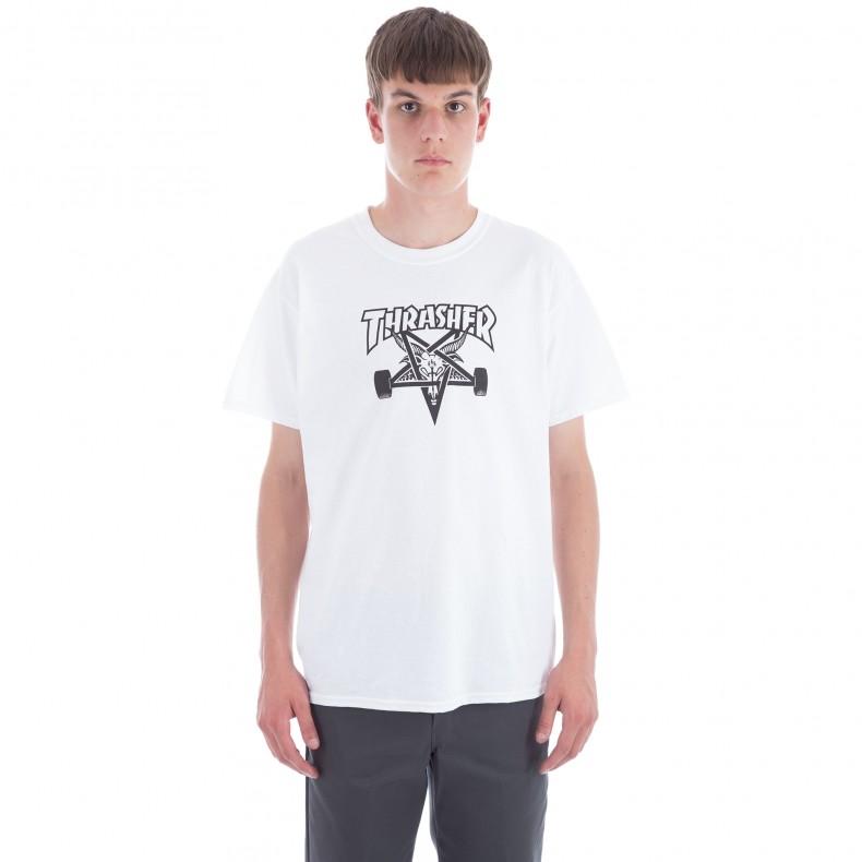 d040283b5b3c Thrasher Skategoat T-Shirt (White) - Consortium.