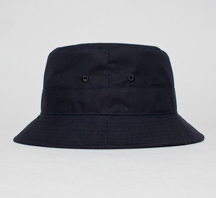 9f3744f7785 Universal Works Bucket Hat (Navy Dry Wax) - Consortium.