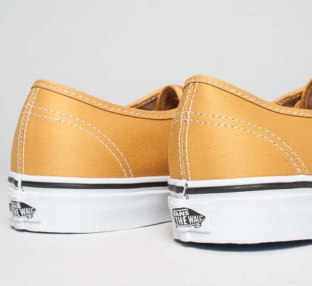 Vans Authentic Bushed Twill (Mineral Yellow True White) - Consortium. b88f8a114