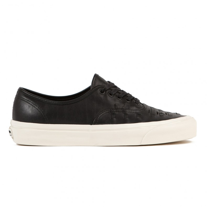27ddb98789 Vans Authentic Weave DX (Black Leather) - Consortium.