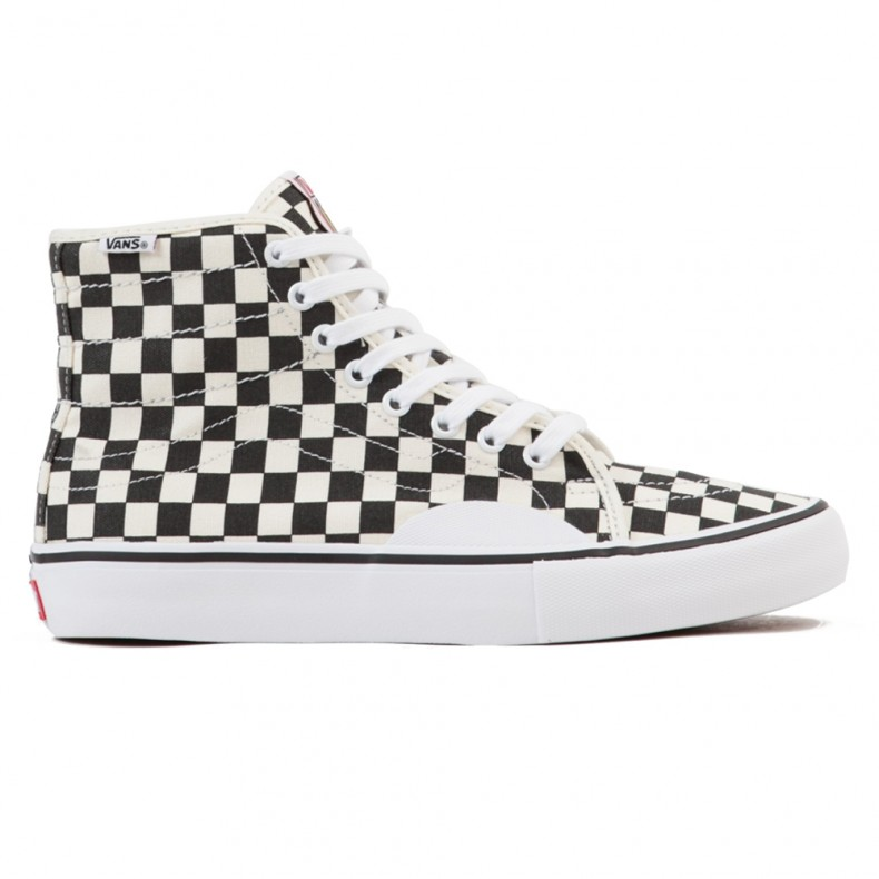 87045749f9 Vans AV Classic High (Checkerboard Black White) - Consortium.