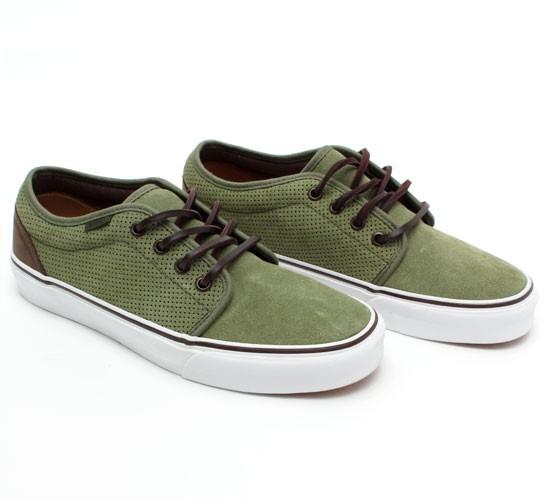 5b63c9fcb8e1ab Vans California 106 Vulcanized Shoes (Bronze Green Perf Suede) - buy Vans  California shoes online at Consortium.