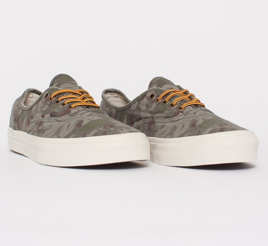 5e80df1f10 Vans California Authentic CA Floral Camo (Olive Knight) - Consortium