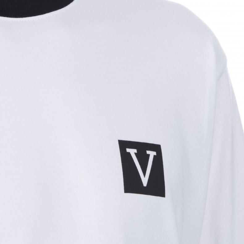 2e45fb25ebc Vans Chima Colourblock Long Sleeve T-Shirt (White) - Consortium