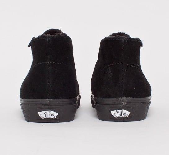 8dba61901f Vans Chukka Decon Fleece Lining (Black Dark Shadow) - Consortium.