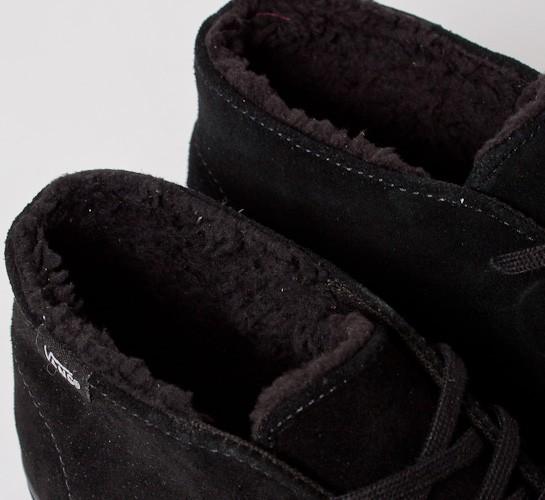 511e6965d4 Vans Chukka Decon Fleece Lining (Black Dark Shadow) - Consortium.
