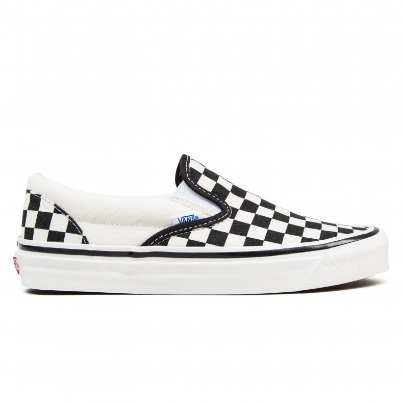 caf1e59068 Vans Classic Slip On 98 DX 'Anaheim Factory' (Checkerboard/Black/White) -  Consortium.