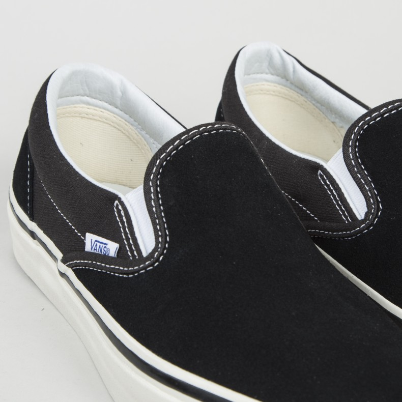 Vans Classic Slip On 98 DX  Anaheim Factory  (Suede OG Black ... e476ffe15