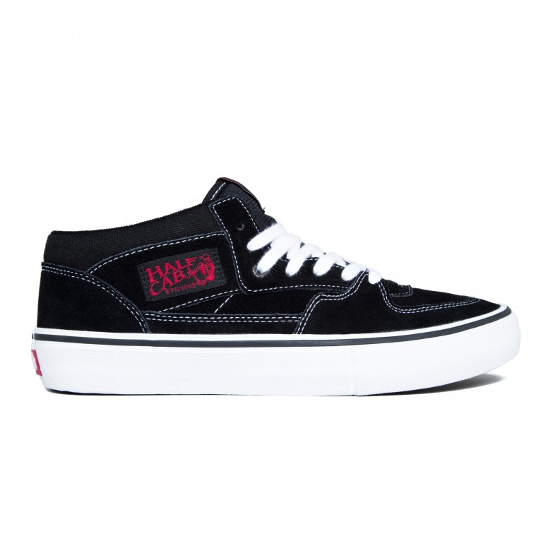 45566fb0e3 Vans Half Cab Pro (Black White Red) - Consortium.
