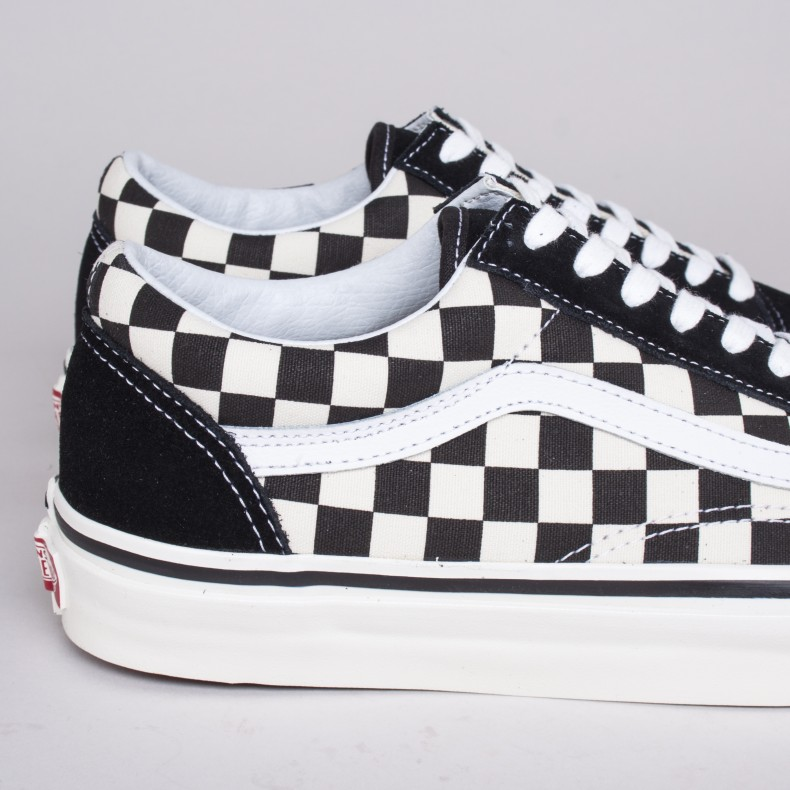 146d46a6b3 Vans Old Skool 36 DX  Anaheim Factory  (Black Check) - Consortium.
