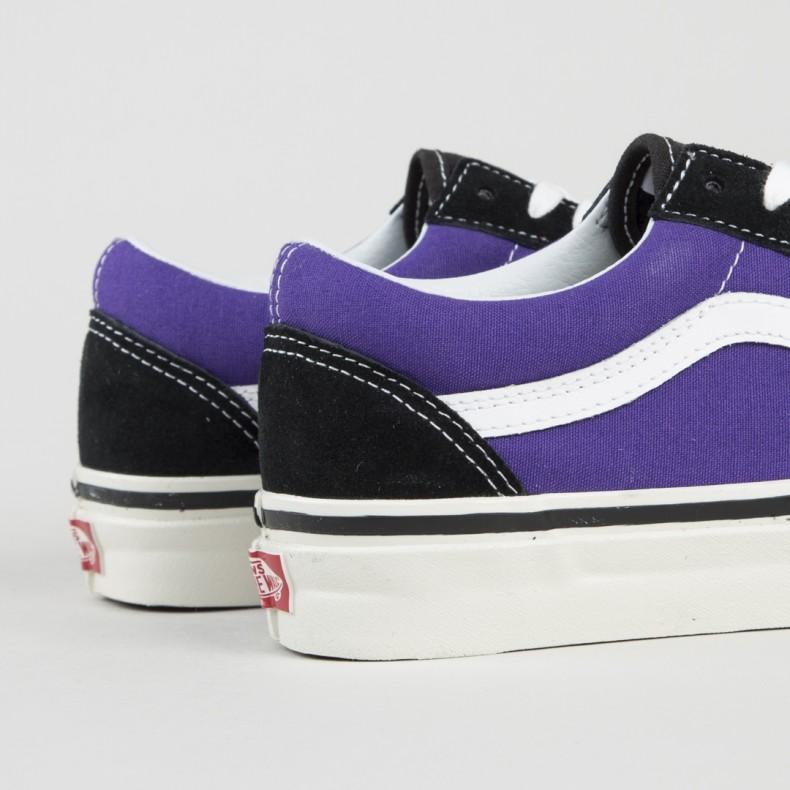78ea40c43d0 Vans Old Skool 36 DX  Anaheim Factory  (Black OG Bright Purple ...