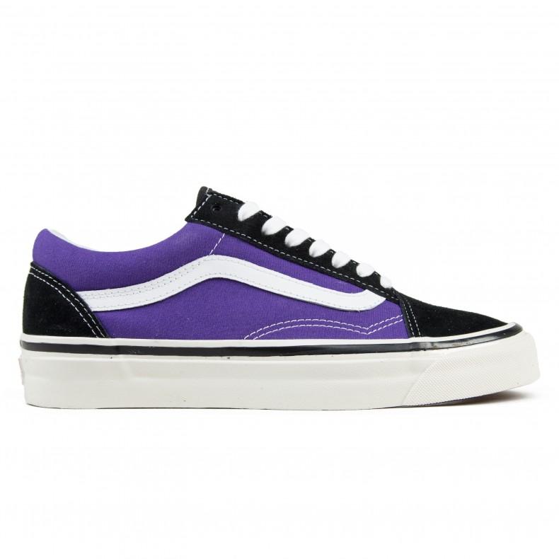 97a453c0b8d Vans Old Skool 36 DX  Anaheim Factory  (Black OG Bright Purple) -  Consortium.
