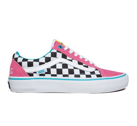 cc080f3b357a Vans Old Skool Pro  Golf Wang  (Blue Pink White) - Consortium.