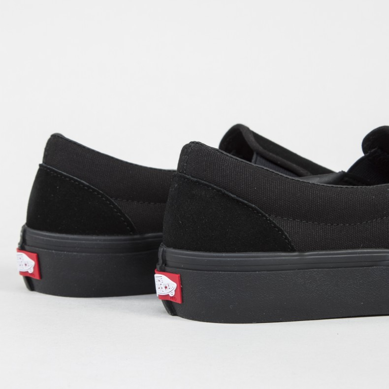 002087de60422e Vans Slip-On Pro (Blackout) - Consortium.