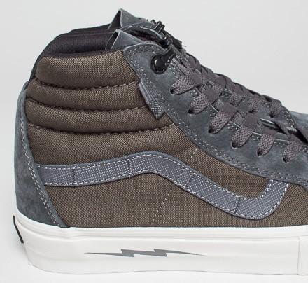 vans syndicate sk8-hi notchback pro s shoe defcon brown