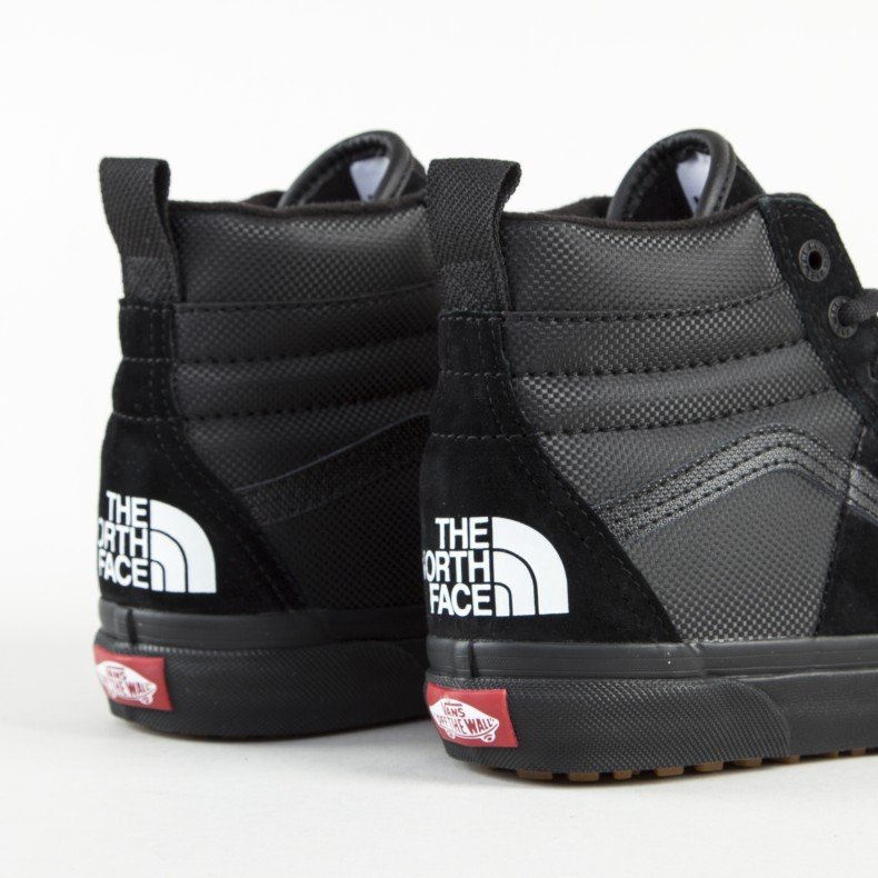 vans x the northface