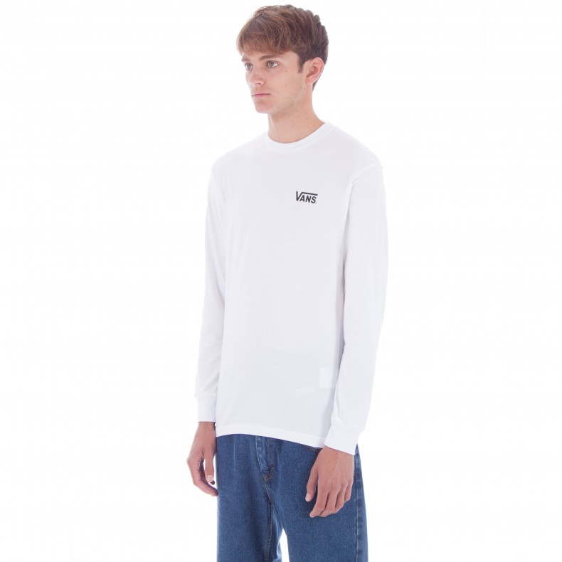 9cc810e40f Vans x Thrasher Checker Long Sleeve T-Shirt (White) - Consortium.