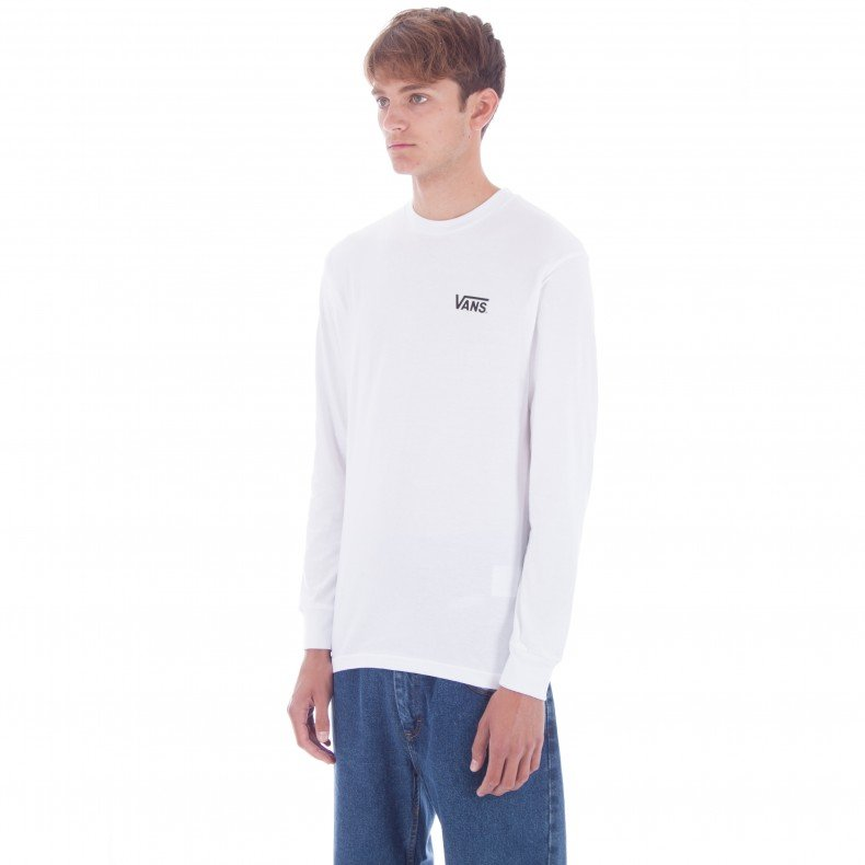 886b558dd7 Vans x Thrasher Checker Long Sleeve T-Shirt (White) - Consortium.