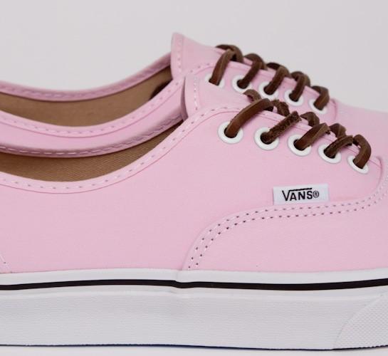 46609e4c3426f Vans California Authentic CA Brushed Twill (Pink Mist) - Consortium.