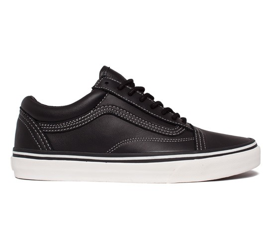 506e7288c7a3 Vans California Old Skool Reissue CA Leather (Black Whisper White) -  Consortium.