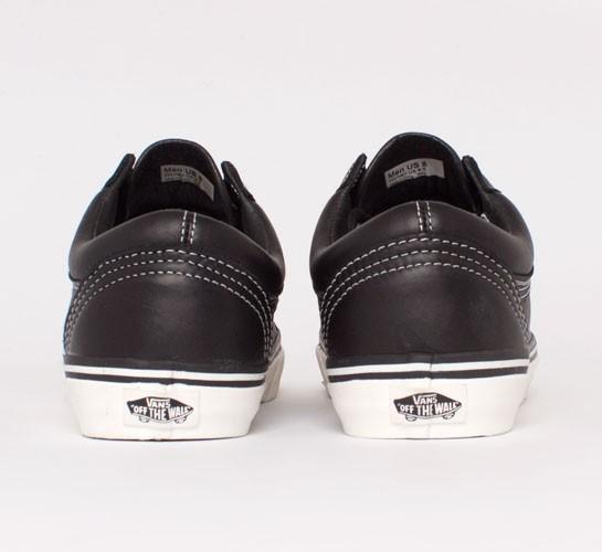 cfcbe4d397 Vans California Old Skool Reissue CA Leather (Black Whisper White ...