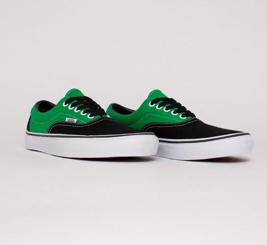 Vans Era 2 Tone (Black Bright Green) - Consortium. 666fcf9a8b41