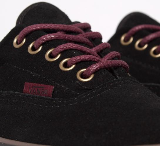 Los Zapatos De La Era Furgonetas - (ante) Negro / Puerto / Goma irJWVh2Z