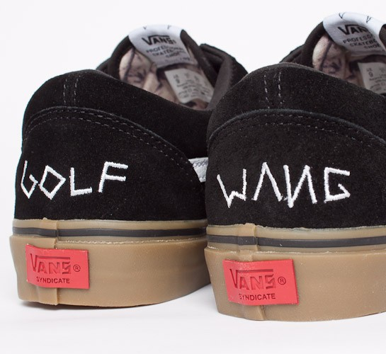 vans syndicate old skool pro quotsquot golf wang blackgum