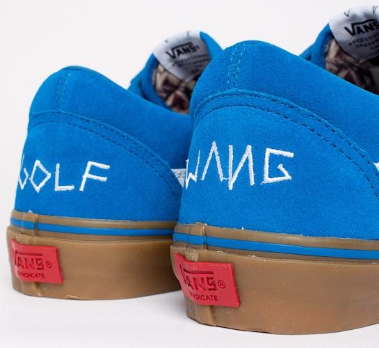 golf wang x vans blue