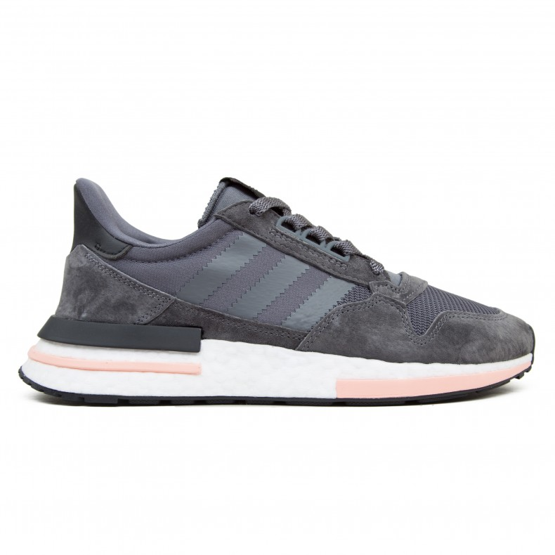 the best attitude c5bd9 4ebd5 adidas Originals ZX 500 RM 'Grey Five' (Grey Five/Footwear White/Clear  Orange)